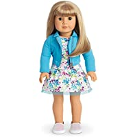 American Girl - 2017 Truly Me Doll: Light Skin Blond Hair with Bangs Green Eyes DN52 [並行輸入品]