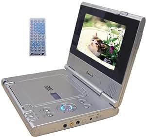 ガイズジャパン 7インチワイド TFT液晶付 ポータブルDVDプレーヤー MPEG4対応 GP-7826