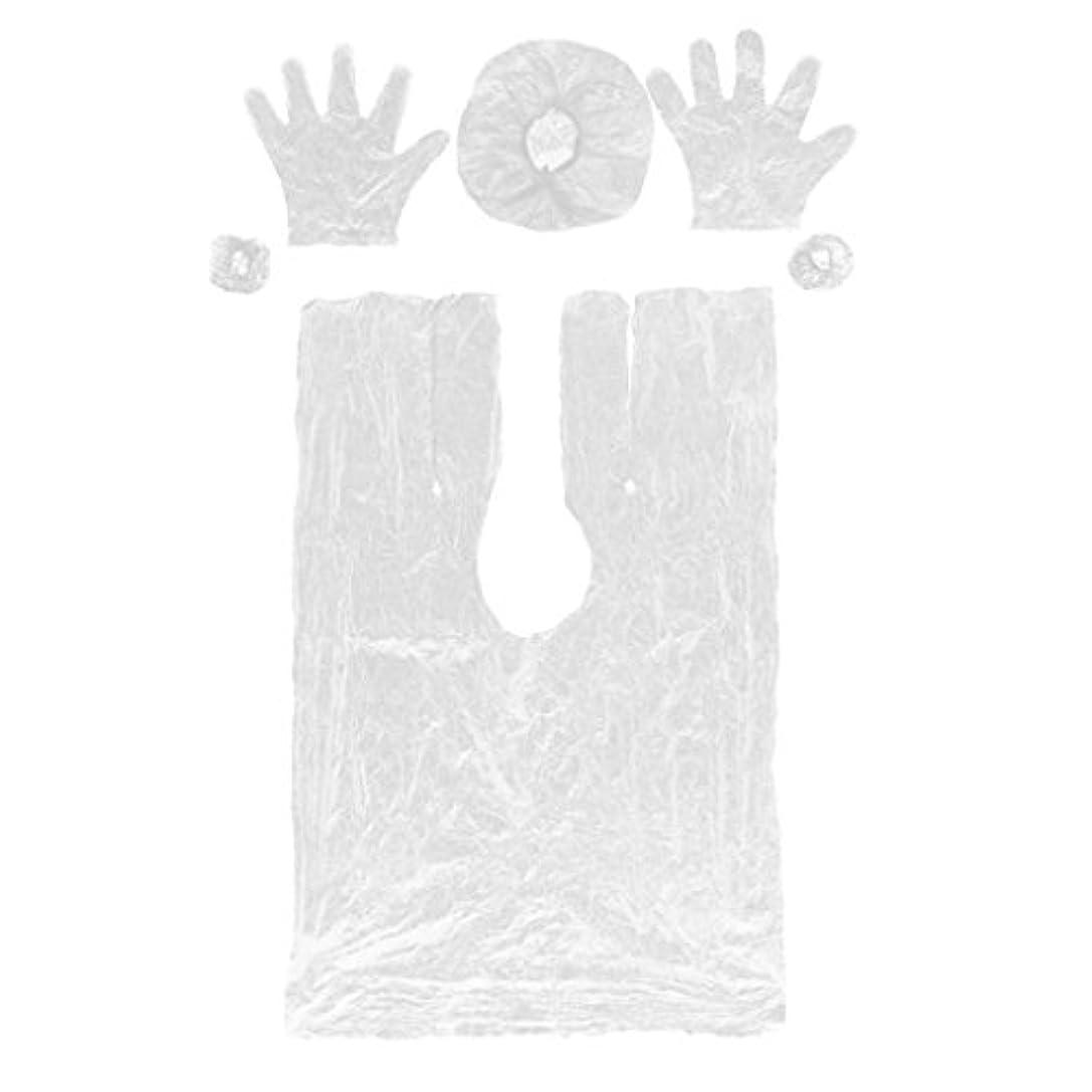 いう消費する翻訳DYNWAVE ヘアーヘッド 弾性キャップ サロン使い捨てセット