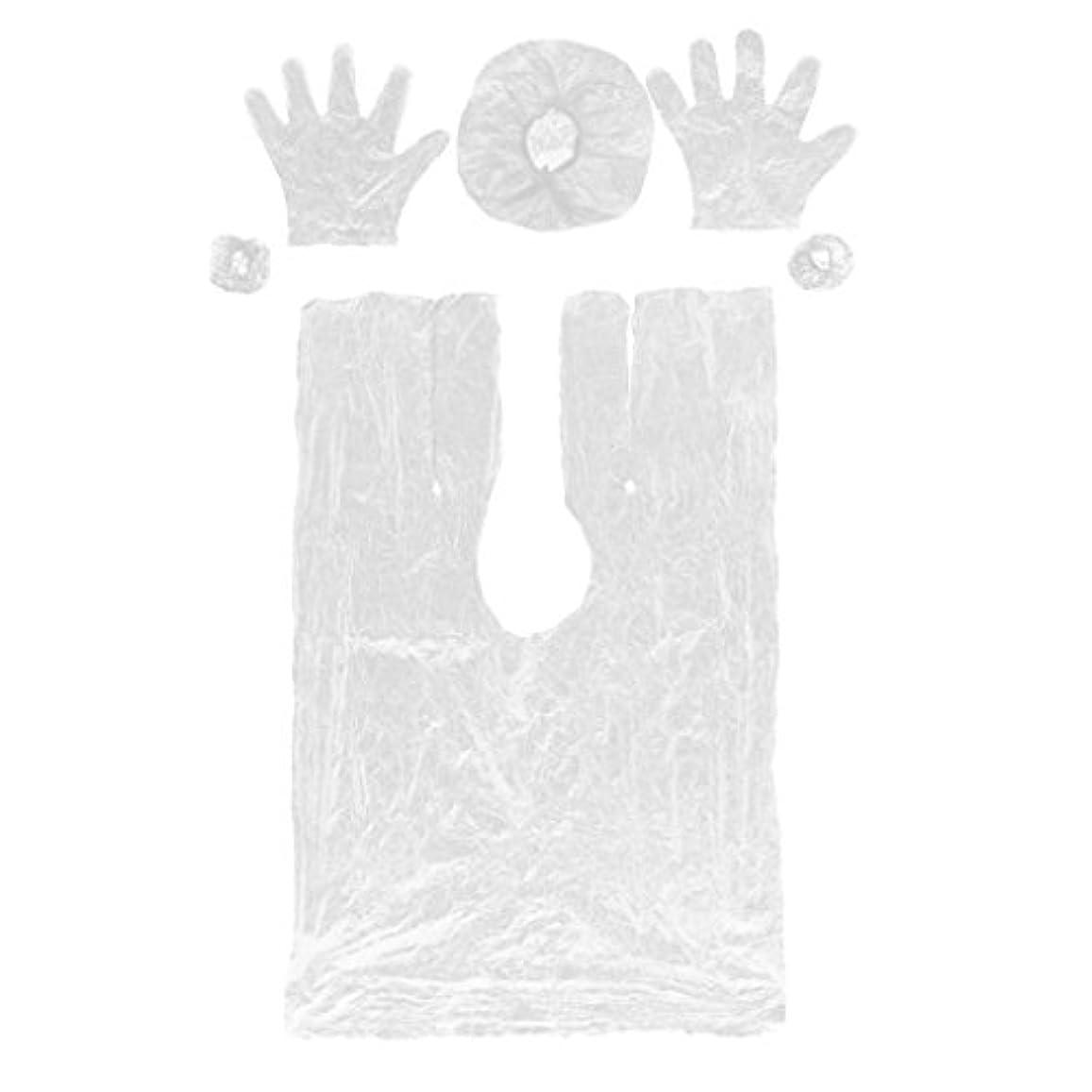 電話アーティスト原稿DYNWAVE ヘアーヘッド 弾性キャップ サロン使い捨てセット