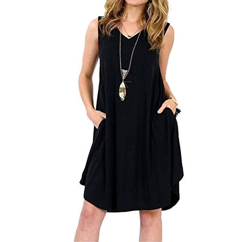 寄生虫ミットパウダーMIFAN の女性のドレスカジュアルな不規則なドレスルースサマービーチTシャツドレス