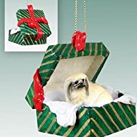 Pekingese Christmas Ornament Hanging Gift Box by Conversation Concepts