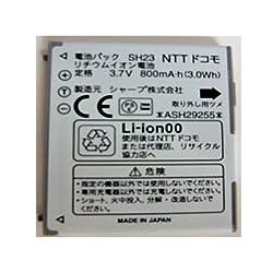 NTT docomo 純正電池パック SH23(SH-07B,SH-08B,SH-09B,SH-01C,SH-02C,SH-04C,SH-08C,SH-11C)