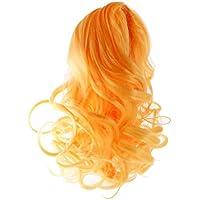 Prettyia ドールかつら 人形の髪 ウィッグ 巻き毛 ブライスドール適用 高温ワイヤー製 1/6 全8種類    - #5