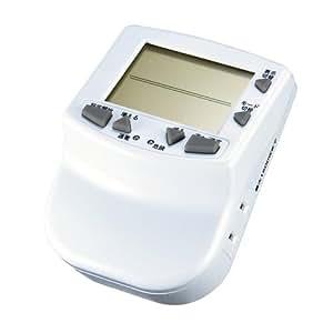 サンワサプライ アウトレット エコキーパー プログラムタイマー付き CHE-TM1N 箱にキズ 汚れのあるアウトレット品です。