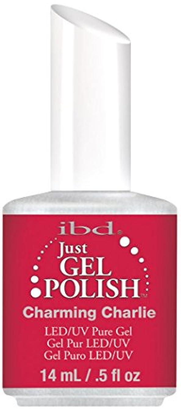 視線ラテン軽減IBD Just Gel Polish - Charming Charlie - 0.5oz / 14ml
