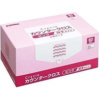 日本製紙クレシア カウンタークロス厚手 ピンク60枚×3箱