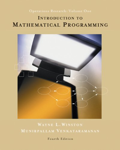 Download Introduction to Mathematical Programming 4e 0534359647