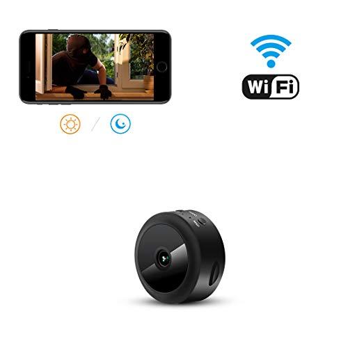 小型カメラ aobo スパイカメラ wifi 1080P高画...