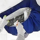 【 プロ仕様 】かぶせるだけでらくらく洗浄!エアコンフィン・ファン洗浄カバー シート エアコン掃除用 CREEKS PRO (小~中)