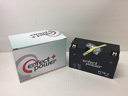 PERFECT POWER PT7B-4 バイクバッテリー 互換 YT7B-BS YT7B-4 FT7B-4 DR-Z400 シグナスX SE44 シグナスX XC125 SE44J マジェスティー250 初期充電済 即使用可能