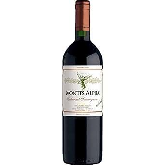 モンテス・アルファ・カベルネ・ソーヴィニョン MONTES ALPHA 2013 チリ・赤ワイン・辛口・フルボディ・750ml