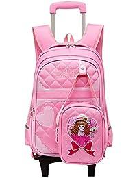 pikaka 子供 キャリーケース リュックサック 小さいバッグを付く 小学生 3way 着脱式 可愛い 人気 入園式 旅行