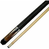 [Iszyビリヤード]Iszy Billiards Short 48 2Piece Hardwood Maple Pool Cue Billiard Stick 18 Oz, Brown BND-01-48