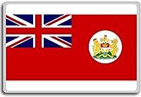 Unofficial Merchant Ensign Hong Kong flag, Historic British Empire & Overseas Territories fridge magnet - ?????????