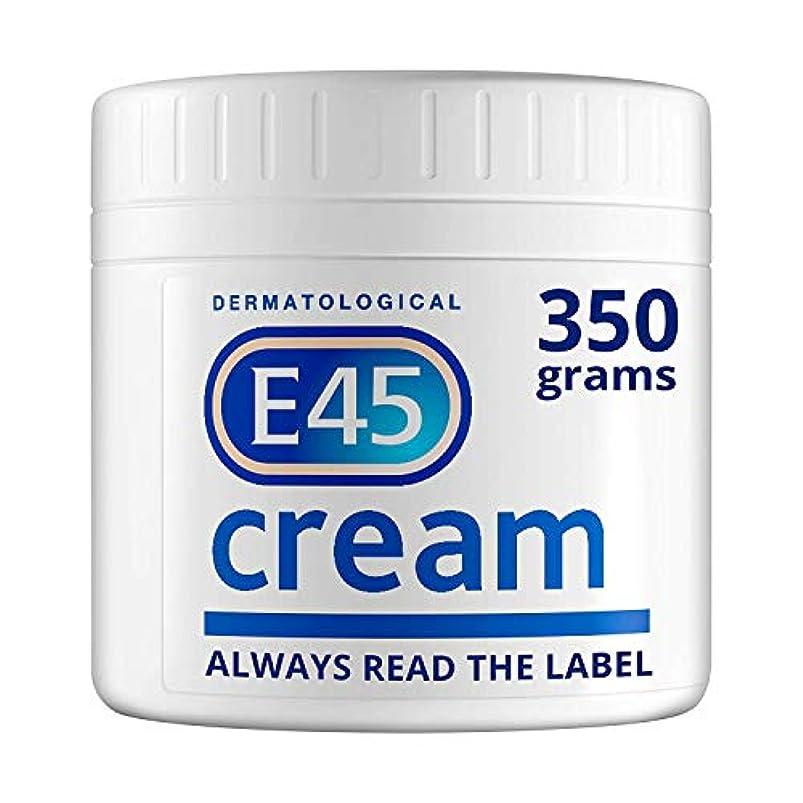 前件不完全柔らかいE45 350g Cream