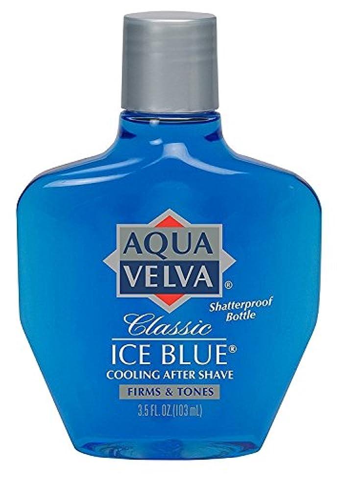 リム世界的に共和党Aqua Velva Aqua Velva Classic Ice Blue Cooling After Shave, 3.5 oz (Pack of 3) by Aqua Velva