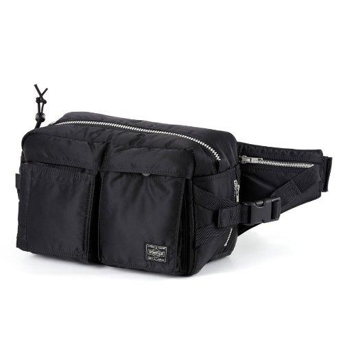 (ヘッド・ポーター) HEAD PORTER | TANKER-ORIGINAL | NEW WAIST BAG BLACK