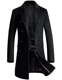 APTRO(アプトロ)コート メンズ ウール チェスターコート ロング あったか アウター 男性コート