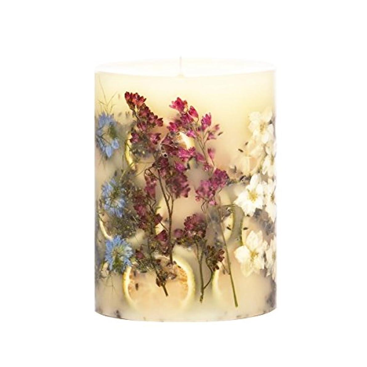 花瓶であること一方、ロージーリングス アロマキャンドル トールラウンド ロマンラベンダー 約12×14cm