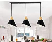 シンプルなシングルヘッドWL7031537PYクリエイティブな個性のレストラン北欧のリビングルームのテーブルランプベッドサイドベッドルーム (Color : 3 HEADS B)