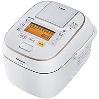 パナソニック 5.5合 炊飯器 圧力IH式 Wおどり炊き スノークリスタルホワイト SR-PW106-W