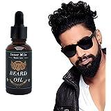 2pcs X 30ml Natural Organic Beard Oil Conditioner For Men Beard Mustaches Growth, Soften, Moisturizing & Strengthen...