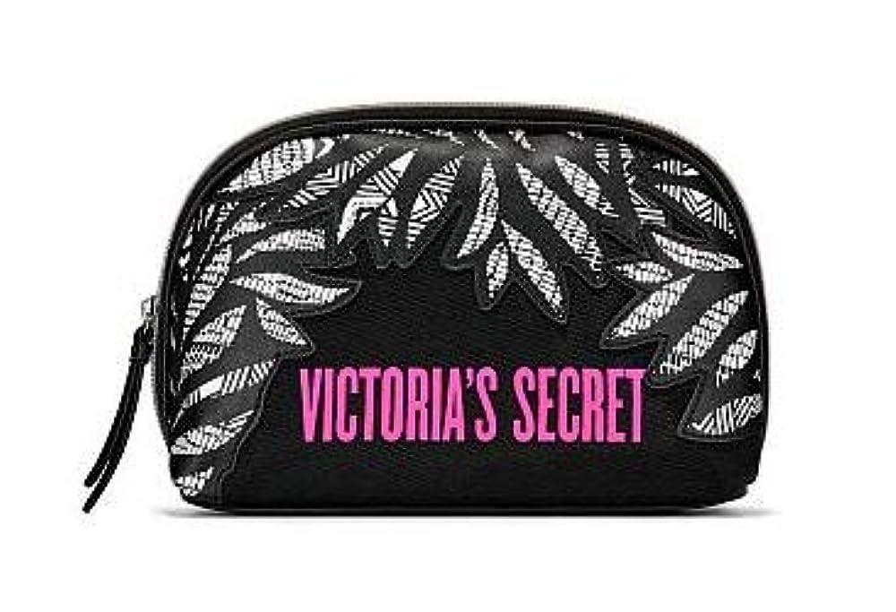 立派な前売皮肉なVICTORIA'S SECRET (ヴィクトリアシークレット) ポーチ スモールサイズ Graphic Blooms Glam Bag [並行輸入品]