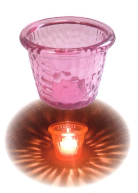 スカウトチョコレートプラカードプラネットキャンドルホルダー ピンク