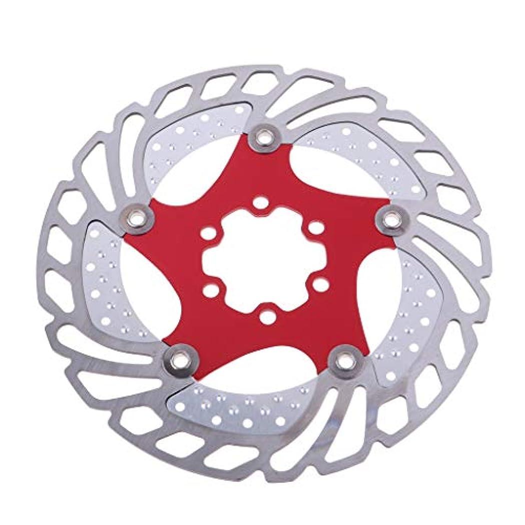 環境に優しいスパイラル水曜日160 Mm自転車ブレーキフローティングローターステンレス鋼自転車ディスクブレーキローター