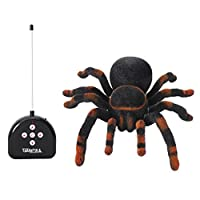 Gift Toy For Children Kids Age 8+ Fun Realistic Electronic Remote Control Spider Prank Educational Toy [並行輸入品]