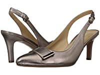 naturalizer ナチュラライザー レディースヒール・パンプス Nicolette Bronze Alloy Metallic Leather 10 27cm N (AA) [並行輸入品]