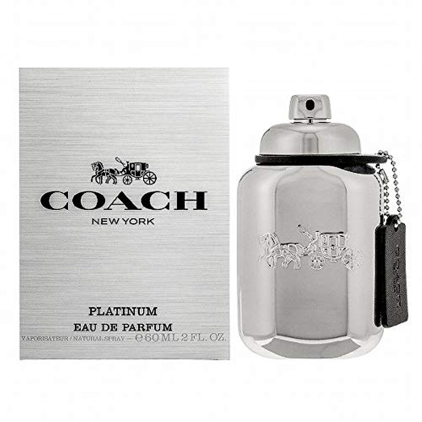 出します科学的意志コーチ 香水 CO-MANPLAEPSP-60 マン プラチナム オードパルファム 60ml【メンズ】 [並行輸入品]