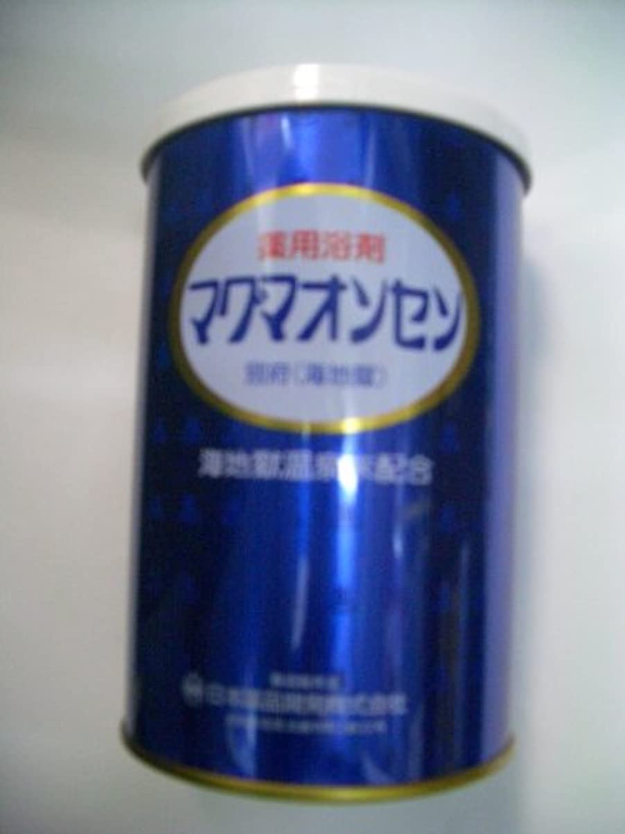 マリン爆発するデッキ別府温泉【マグマオンセン温泉】(海地獄)缶入500g 6個