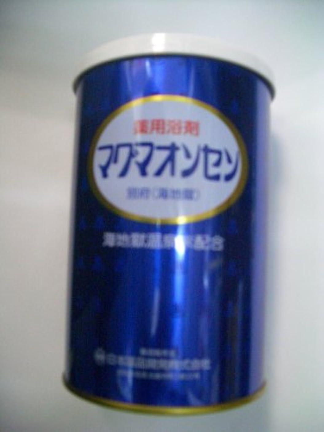 ステンレス集中製造別府温泉【マグマオンセン温泉】(海地獄)缶入500g 6個