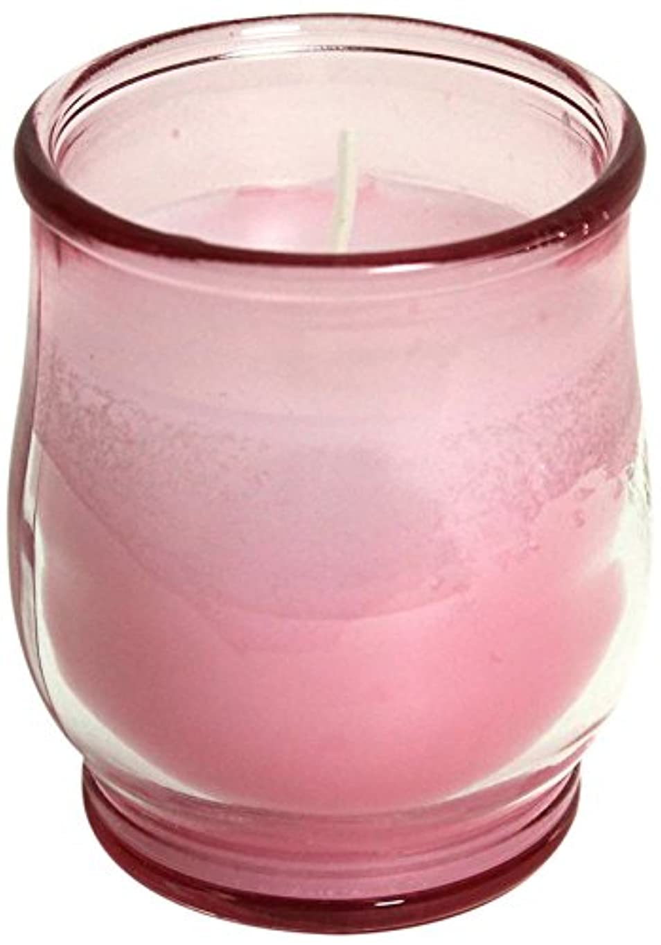 あいまいさ勝利ニコチンポシェ(非常用コップローソク) 「 ピンク(ライトカラー) 」