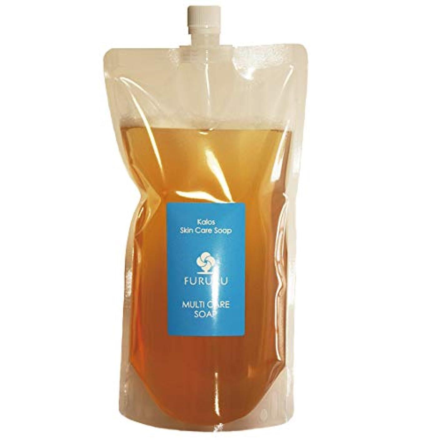 堂々たるレーザアルミニウムフルボ酸 FURURU ボタニカル シャンプー 詰替え用 (1000ml)