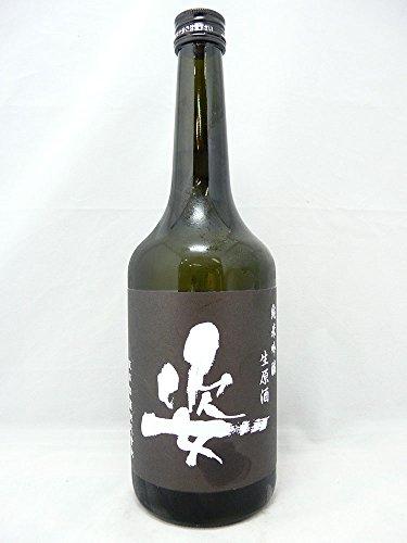姿 純米吟醸生原酒 Black Impact ブラックインパクト 720ml