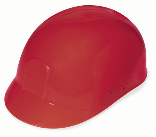 Liberty DuraShell HDPE Bump Cap with 4 Point Pinlock Suspension, Red (Case of 6) by Liberty Glove & Safety