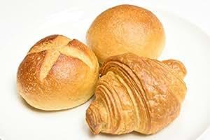 【10通りの組み合わせ】焼成冷凍玄米パン30個詰め合わせ (ミニカンパーニュ10個、ミニ塩バター10個、ミニクロワッサン10個)