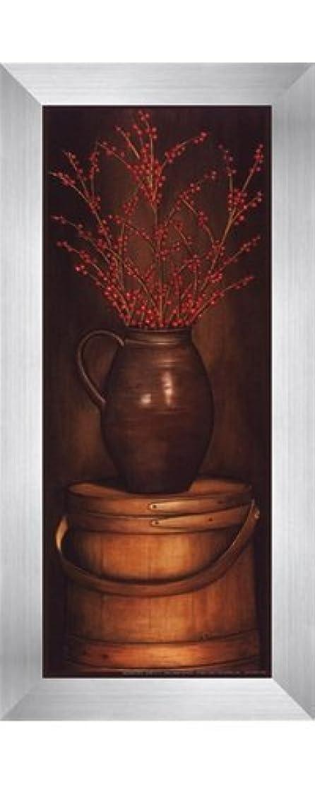 ラップ翻訳する素朴なsmall-radiantレッドby Diane Weaver – 4 x 10インチ – アートプリントポスター LE_614678-F9935-4x10