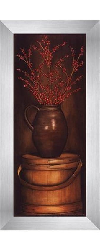 スロベニアみなす繊維small-radiantレッドby Diane Weaver – 4 x 10インチ – アートプリントポスター LE_614678-F9935-4x10