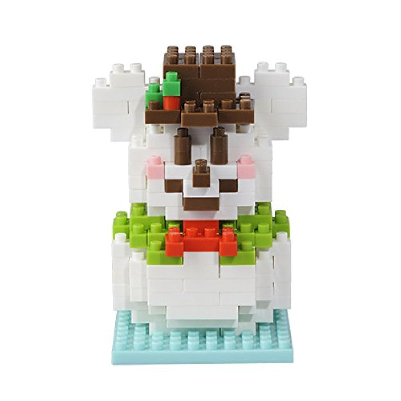 ディズニークリスマス2015 ミッキーマウス スノーマン ナノブロック【東京ディズニーリゾート限定】2015年 X'mas コスメ