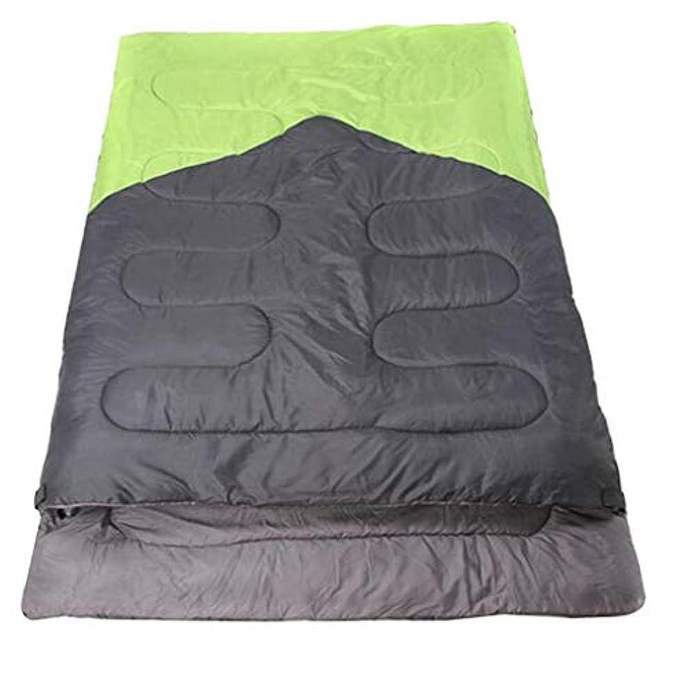贅沢な束ねる土野外旅行のためのキャンプの寝袋の二重暖かい防水携帯用洗えるキャンプのハイキング