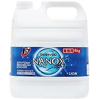 【大容量】トップ ナノックス 洗濯洗剤 液体 4Kg