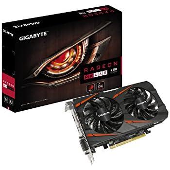 GIGABYTE ビデオカード AMD RADEON RX460搭載 GV-RX460WF2OC-2GD