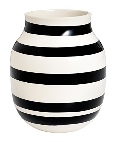 RoomClip商品情報 - Kahler ケーラーOmaggio Vase オマジオ フラワーベース(M) ブラック H:20cm