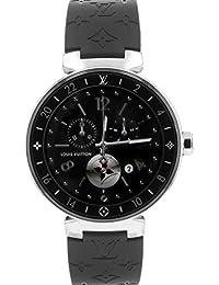[ルイヴィトン] LOUIS VUITTON 腕時計 QA003 タンブール ホライゾン コネクテッドウォッチ SS/ブラックラバー[中古品] [並行輸入品]