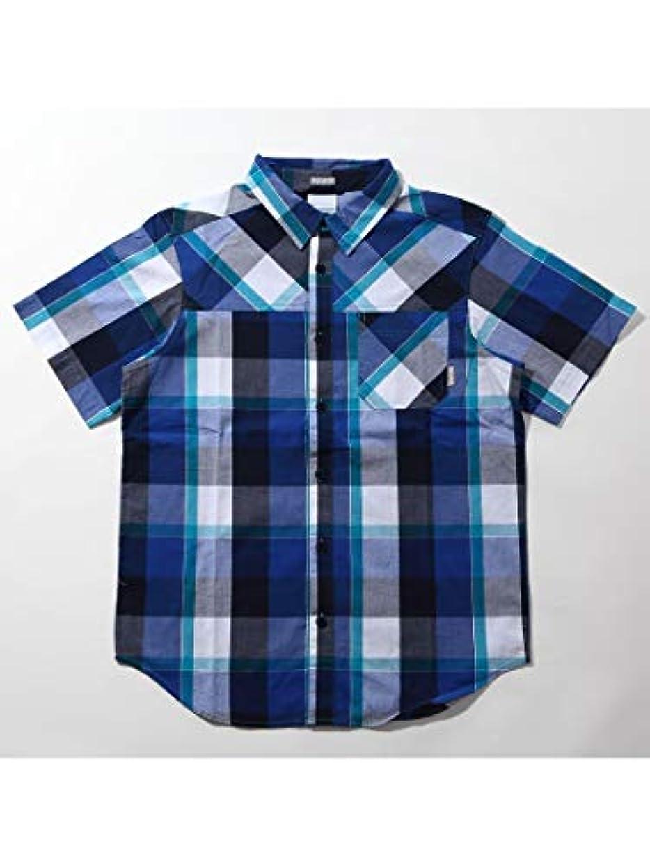 飲み込む上流の再集計[コロンビア] メンズ トンプソンヒルYDショートスリーブシャツ MODERN TURQ CH AE0125 443
