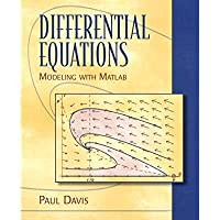 Differential Equations: Modeling with MATLAB【洋書】 [並行輸入品]